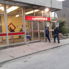 Photo taken at Lansdowne Subway Station by Augusto A. on 5/3/2012