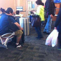 Photo taken at Gate B8 by Mando on 3/12/2012