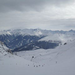 Photo taken at Skigebiet Schlossalm - Angertal / Ski amadé by Lars Kirstein A. on 2/13/2012