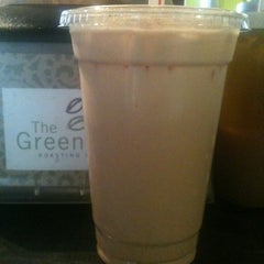 Photo taken at The Green Bean Roasting Company by Katie J. on 6/18/2012