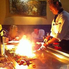 Photo taken at Kobe Japanese Steakhouse & Sushi Bar by Portia W. on 3/24/2012
