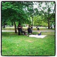 Photo taken at McCarren Park by Maria C. on 7/15/2012