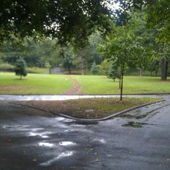 Photo taken at Lincoln Terrace Park by Max L. on 9/4/2012