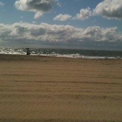 Photo taken at 59th St Beach by Natalie F. on 6/16/2012