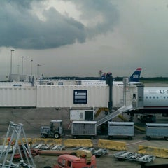 Photo taken at Concourse A by Adam W. on 8/29/2012