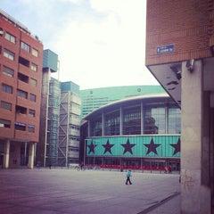 Photo taken at Barclaycard Center - Palacio de Deportes de la Comunidad de Madrid by Pablo R. on 4/21/2012