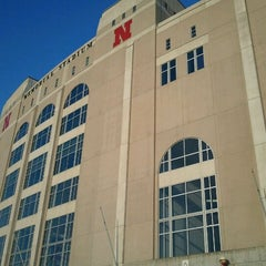 Photo taken at Memorial Stadium by Aaron B. on 3/9/2012