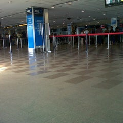 Photo taken at Nadi International Airport (NAN) by Angie L. on 9/9/2012