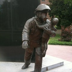 Photo taken at Ontario Fire Fighters Memorial by B D. on 5/31/2012