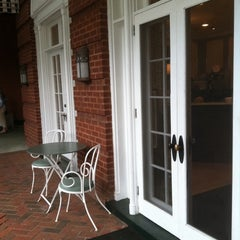 Photo taken at The Front Porch at The Homestead by Breaux V. on 6/7/2012