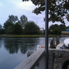 Photo taken at Geno's Chowder and Sandwich Shop by Kelly M. on 7/18/2012