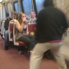 Photo taken at WMATA Red Line Metro by Zachary S. on 3/24/2012