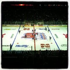 Photo taken at Spokane Veterans Memorial Arena by Andrey M. on 2/26/2012