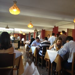 Photo taken at Brazão Churrascaria by Sarah M. on 3/8/2012