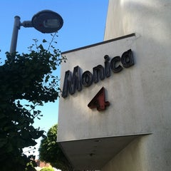 Photo taken at Laemmle's Monica Fourplex by Amy G. on 9/2/2012