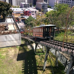 Photo taken at Angels Flight Railway by Stacey W. on 4/17/2012