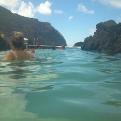Photo taken at Piscinas Naturais do Porto Moniz by Pedro F. on 8/30/2012
