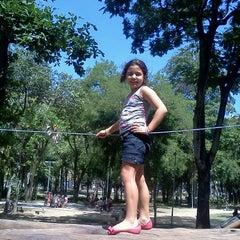 Photo taken at Parque Recanto do Trovador by Danielle A. on 3/25/2012