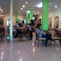 Photo taken at Evergreen Salon by MuLan K. on 3/23/2012