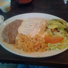 Photo taken at Taqueria Mixteca by holly w. on 2/24/2012