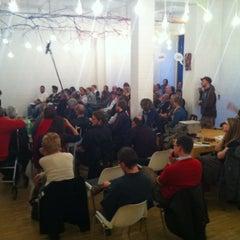 Photo taken at betahaus Hamburg by Lars B. on 4/12/2012