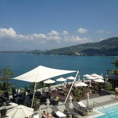 Photo taken at Cape Sienna Phuket Hotel & Villas by Jureerat S. on 4/17/2012