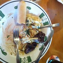 Photo taken at Olive Garden by Thomas E. on 4/15/2012