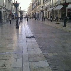 Photo taken at Calle Marqués de Larios by Anaviajando on 3/23/2012