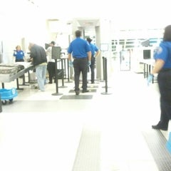 Photo taken at TSA Security Line by Greg L. on 3/9/2012