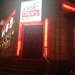 Photo taken at Story Cafe by Katya Z. on 3/10/2012
