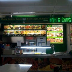 Photo taken at Strand Arcade International Food Court by Asfan A. on 4/17/2012