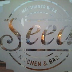 Photo taken at Seed Kitchen & Bar by Heather B. on 5/11/2012