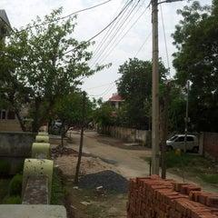 Photo taken at Rajender nagar ghaziabad by Himanshu B. on 7/14/2012