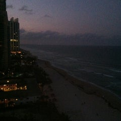 Photo taken at DoubleTree by Hilton Ocean Point Resort & Spa - North Miami Beach by John O. on 6/29/2012