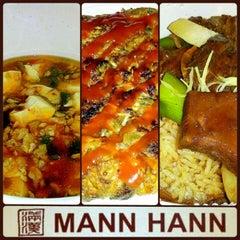 Photo taken at Mann Hann by Mabbiey M. on 3/27/2012