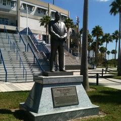 Photo taken at George M. Steinbrenner Field by Debbie C. on 3/13/2012