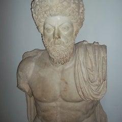 Photo taken at The Bardo National Museum I Musée national du Bardo I المتحف الوطني بباردو by Vadim M. on 9/13/2012