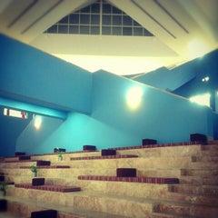 Photo taken at Texas A&M University at Qatar | جامعة تكساس إي أند أم في قطر by Abdulla A. on 7/11/2012