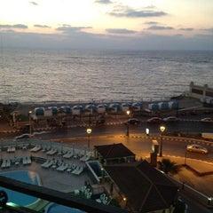 Photo taken at Sheraton Montazah Hotel by Abodeh B. on 8/14/2012