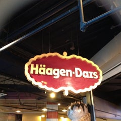 Photo taken at Häagen-Dazs Café by Kate J. on 8/12/2012