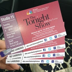 Photo taken at The Tonight Show with Jay Leno by Carol . on 9/6/2012