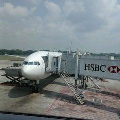 Photo taken at Gate C20 by Werachai T. on 6/29/2012