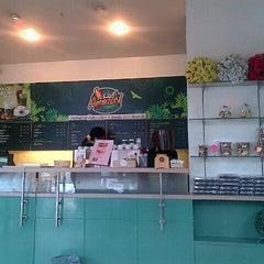 Photo taken at Café Amazon (คาเฟ่ อเมซอน) by kit a. on 6/27/2012