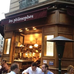 Photo taken at Les Philosophes by Malvina M. on 5/23/2012