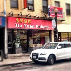 Photo taken at Ho Yuen Bakery by Brad K. on 3/29/2012