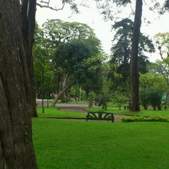 Photo taken at Jardin del Parque by 🐾 Gio🐾 on 6/13/2012