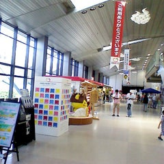 Photo taken at 出雲空港ターミナル by Shiu S. on 8/25/2012