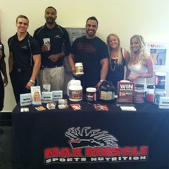 Photo taken at Max Muscle Sports Nutrition by Max Muscle Sports Nutrition South Florida on 2/9/2012