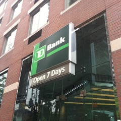 Photo taken at TD Bank by Isaac R. on 5/3/2012