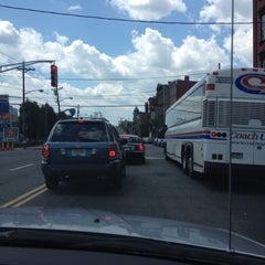 Photo taken at NJT - Bus Stop by Dalvin M. on 7/2/2012